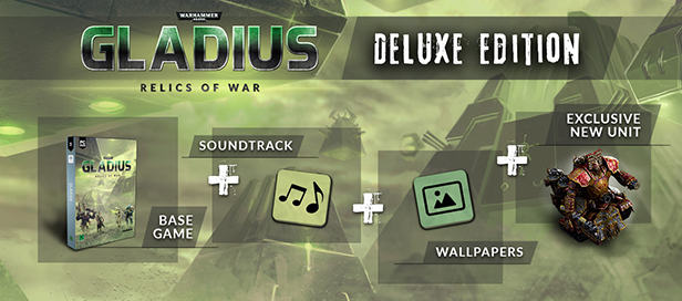 Warhammer 40,000: Gladius – Relics of War Deluxe Edition